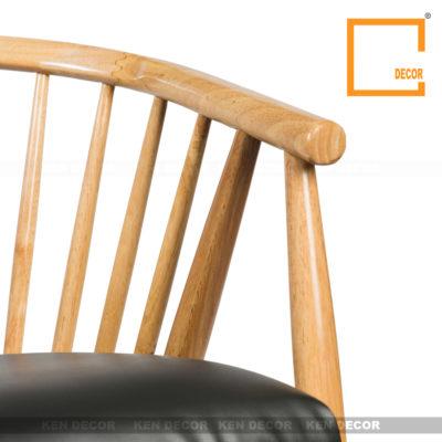 Chi tiết ghế gỗ Genny
