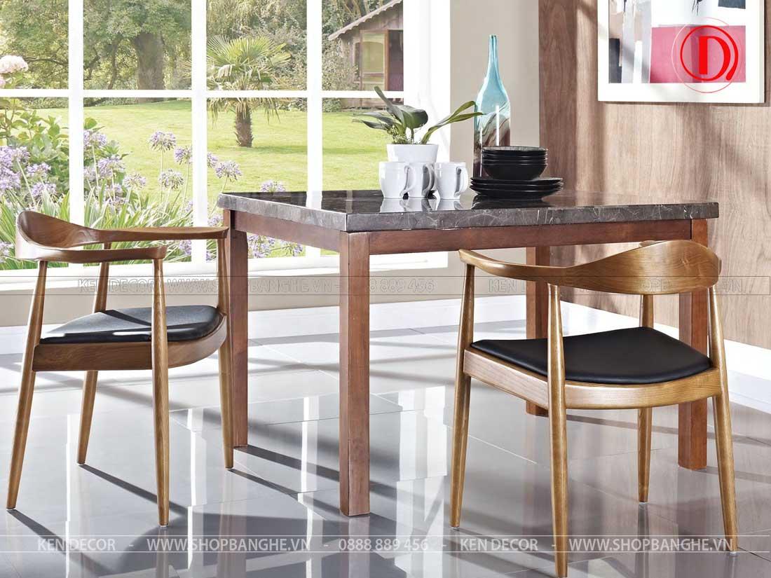 ghế gỗ cafe