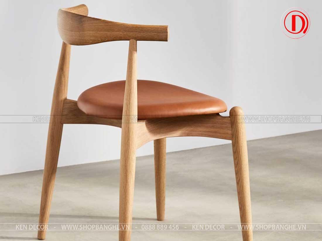 ghế gỗ trà sữa