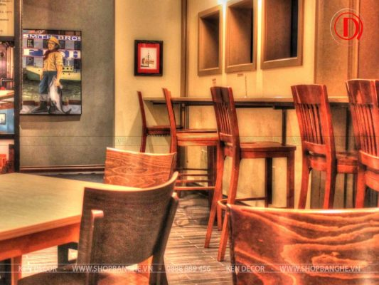 ghế quán cafe sang trọng
