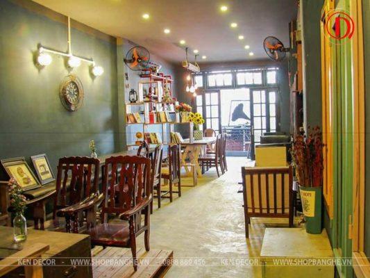 bàn ghế cafe vintage