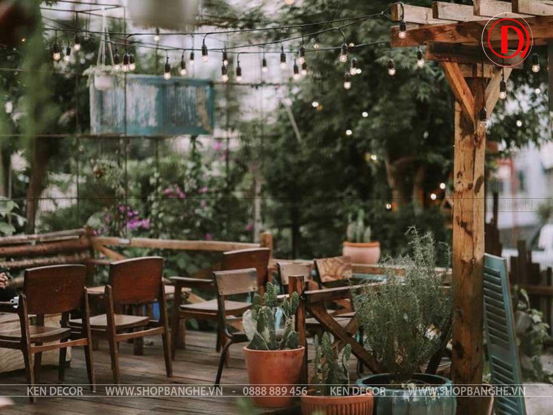 bàn ghế cafe giá rẻ