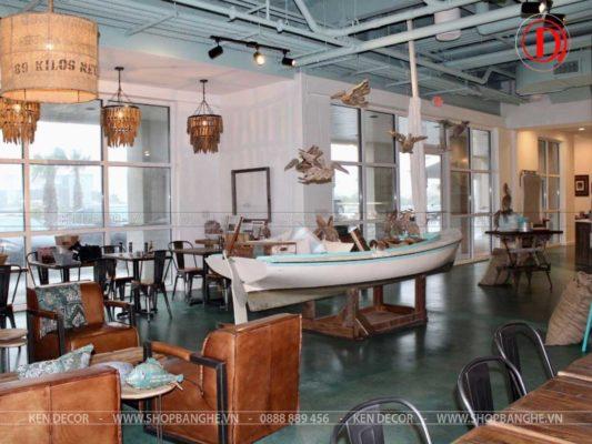bàn ghế cafe sang trọng