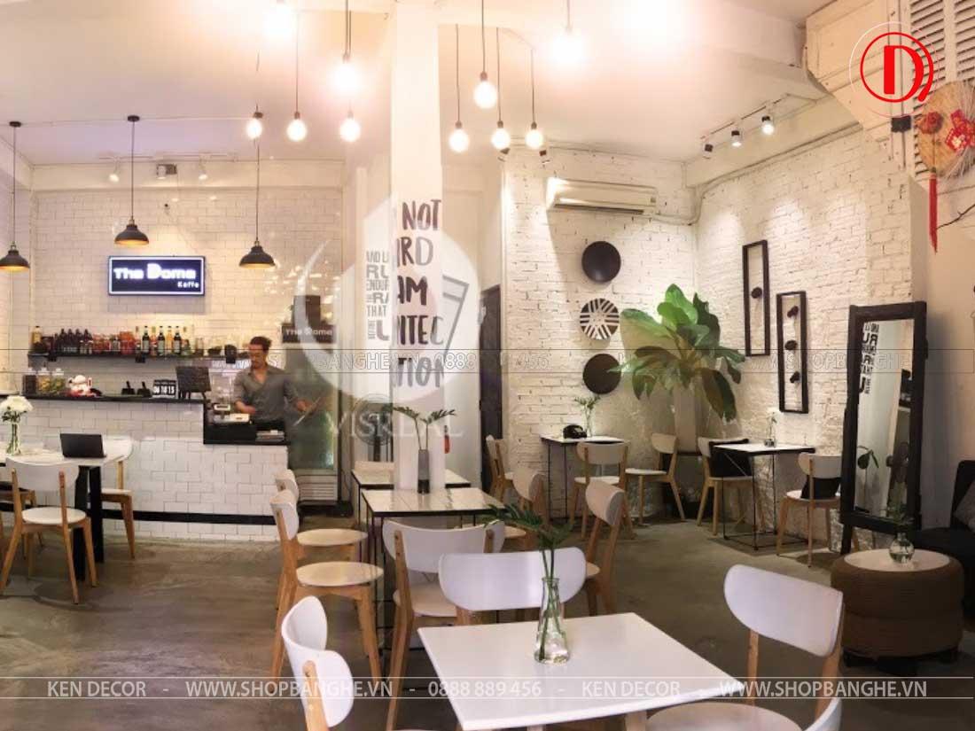 bàn ghế quán cafe