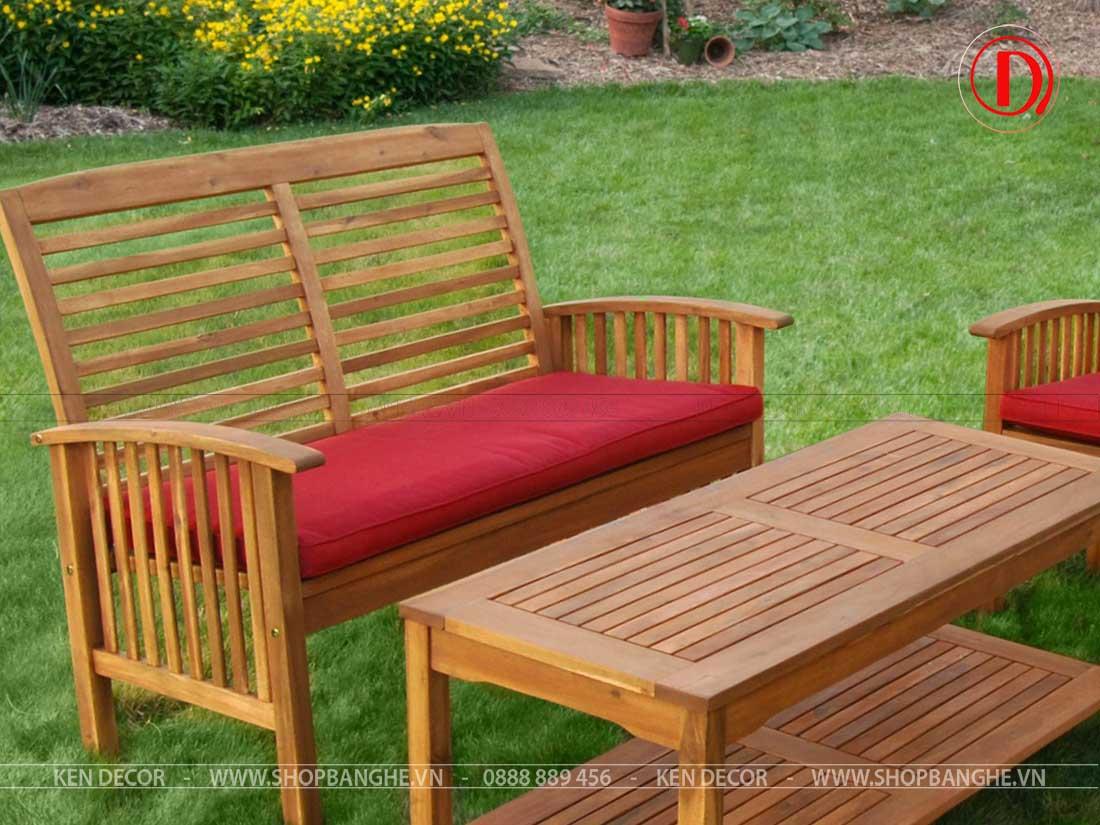 mẫu bàn ghế cafe sân vườn