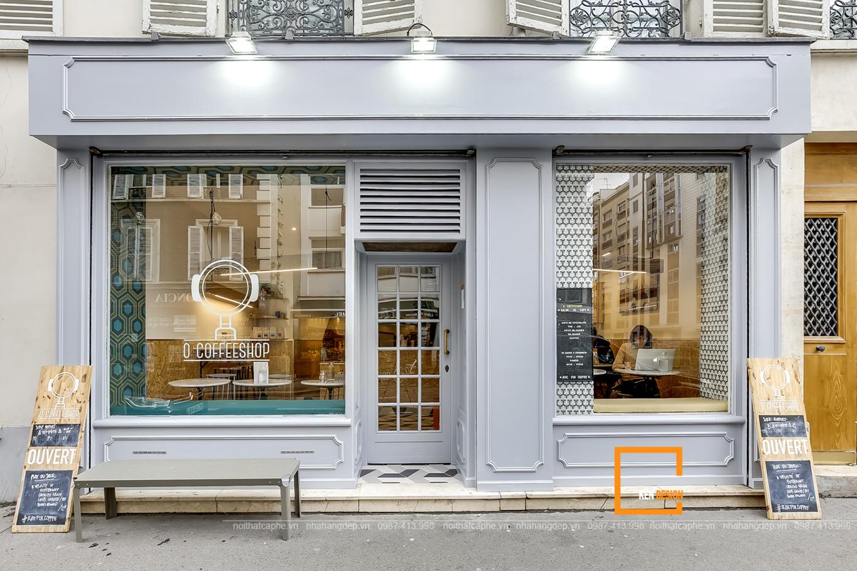 thiết kế bàn ghế quán cafe kiểu Pháp