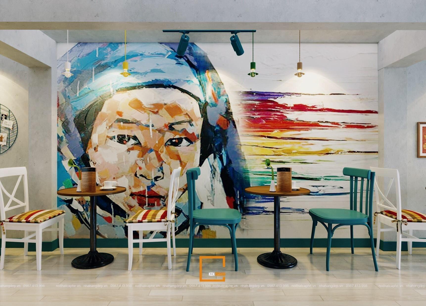 nội thất nhà hàng heart of sapa