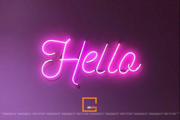 đèn trong thiết kế quán cafe